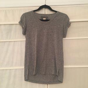 Anthropologie Gray Basic T-shirt by T. La (Size M)